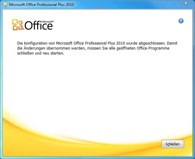 hilfe office 2010