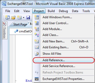 Exchange Web Services Managed API 1 1 How To