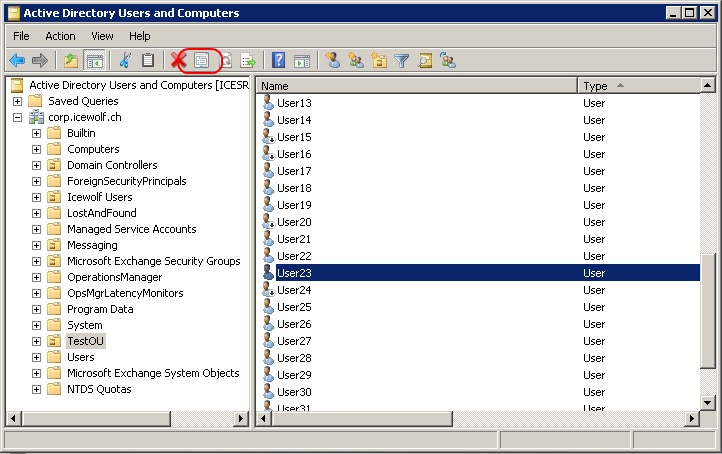 Active directory console option user contacts groups and computers as containers - Console active directory ...
