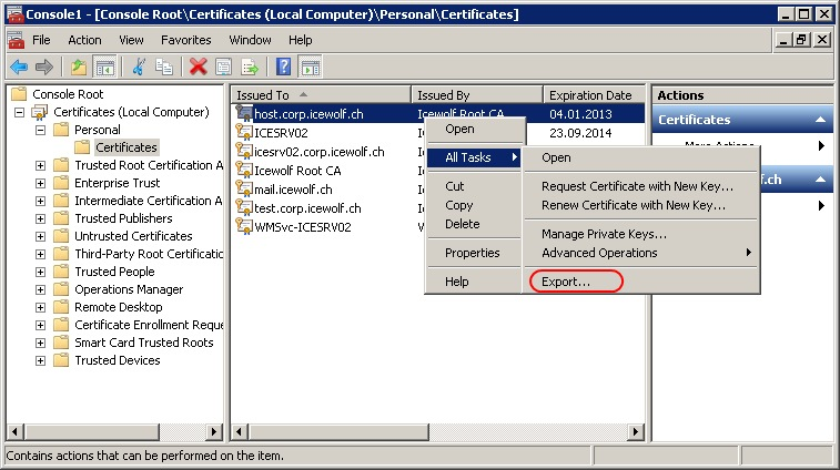 how to open pem file