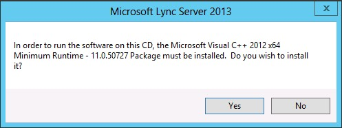 Installation of Lync Server 2013 (Step-by-Step Guide)