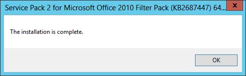 Service pack 2 for office 2010 and office 2010 filter pack - Office filter pack for exchange 2010 ...