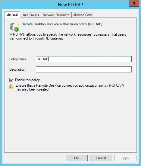 how to find gateway for remote desktop