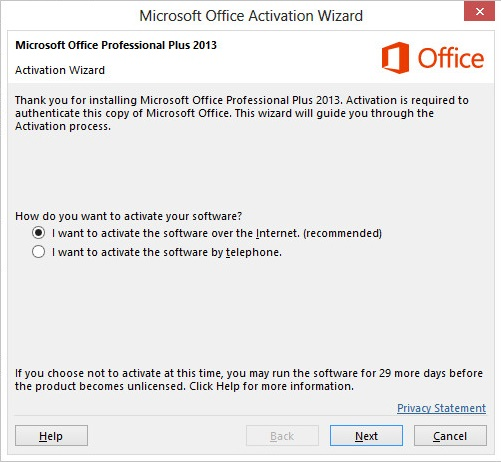 installation id for microsoft office 2013 professional plus