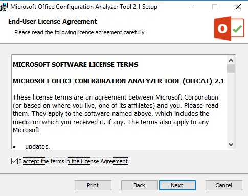 microsoft office configuration analyzer tool (offcat) download