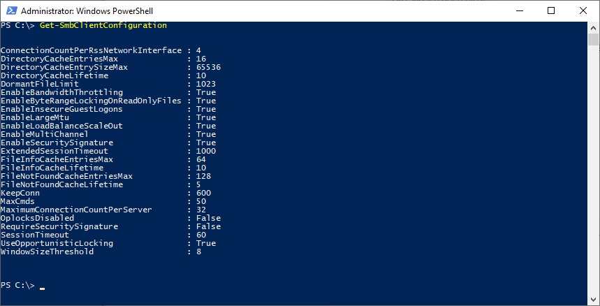Server Message Block (SMB) Versions, Features, Tuning